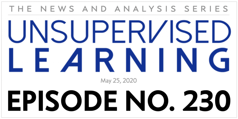 Unsupervised Learning: No. 230