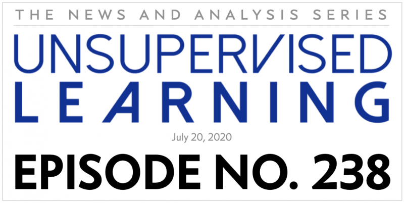 Unsupervised Learning: No. 238