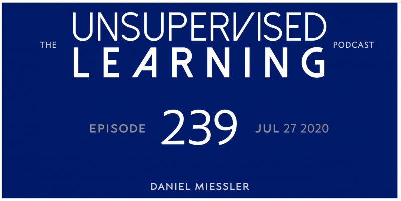 Unsupervised Learning: No. 239