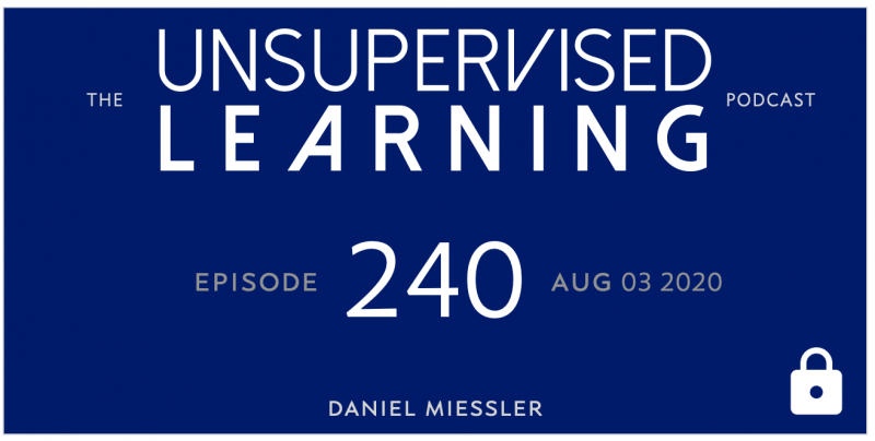 Unsupervised Learning: No. 240
