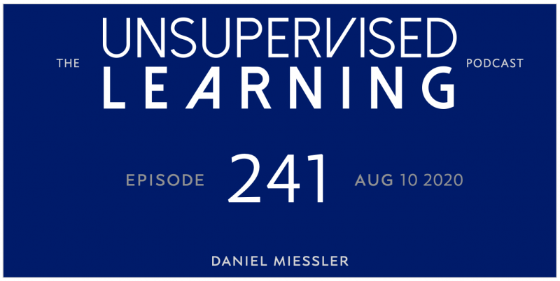 Unsupervised Learning: No. 241