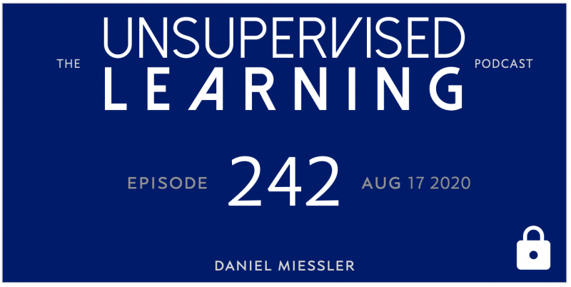 Unsupervised Learning: No. 242