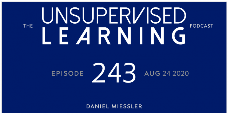 Unsupervised Learning: No. 243