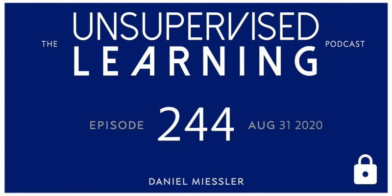Unsupervised Learning: No. 244