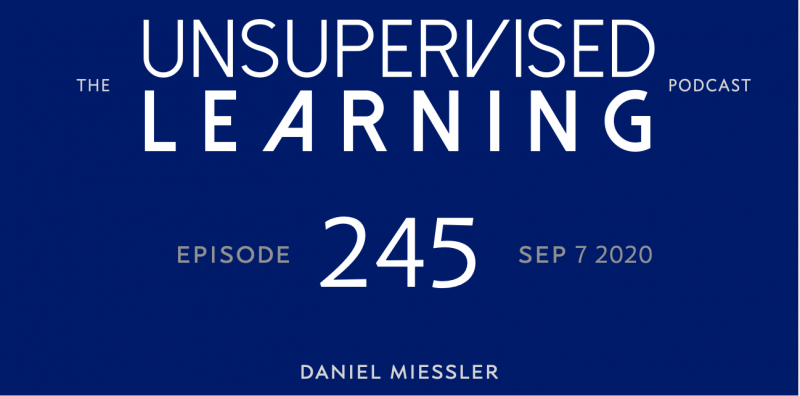 Unsupervised Learning: No. 245