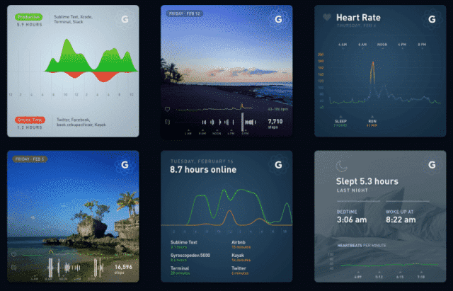 , The Life Dashboard