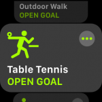 How to Record a Table Tennis Workout Using the Apple Watch