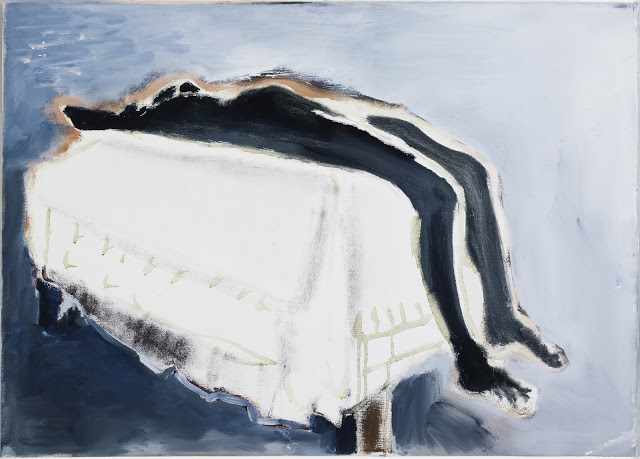 Marlene Dumas, Waiting (for Meaning) (1988),