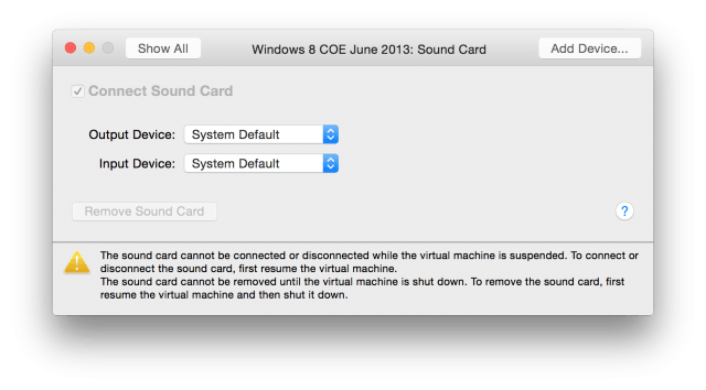 , How to Use a Headset with a VMware Fusion Guest