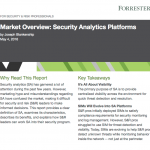 Security Report Analysis: Forrester Security Analytics Platforms 2016