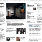 Standardizing on New York Times for Core News Input