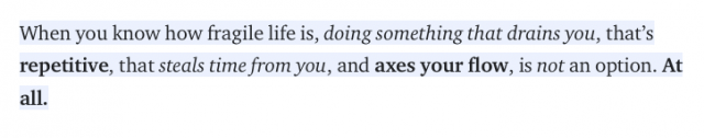 , On the Luxury of Abandoning a Nice Corporate Job for the Freedom of Freelancing