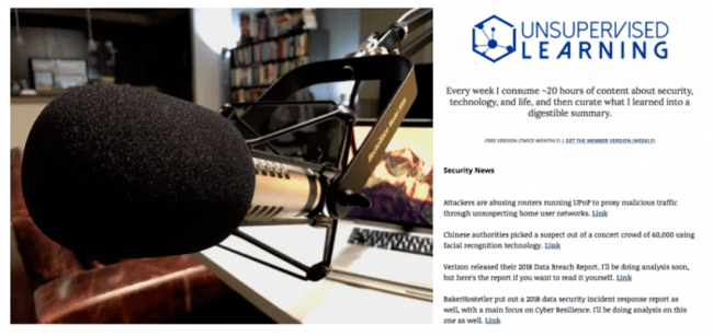 , Thoughts on Podcast vs. Newsletter Content