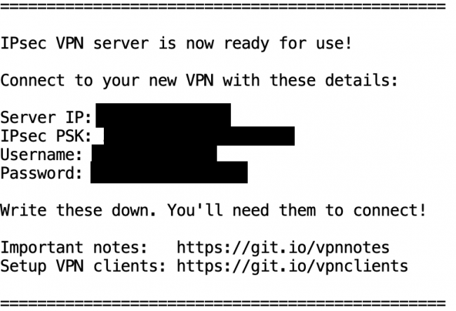 , Building Your Own Dedicated IPSEC VPN in Less Than 10 Minutes