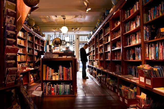 , Bookstores vs. Check Cashing Places