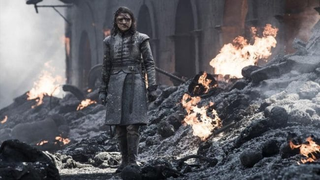 arya walking carnage