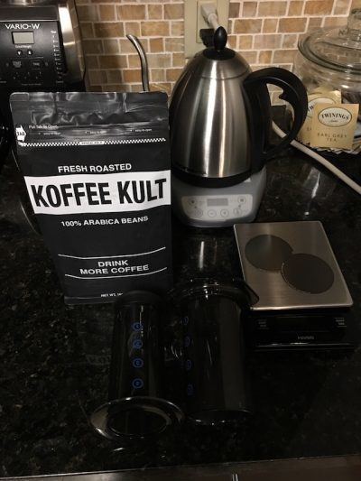 , Getting More Serious About Coffee