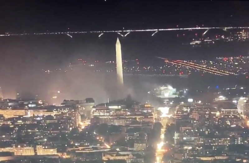dc on fire