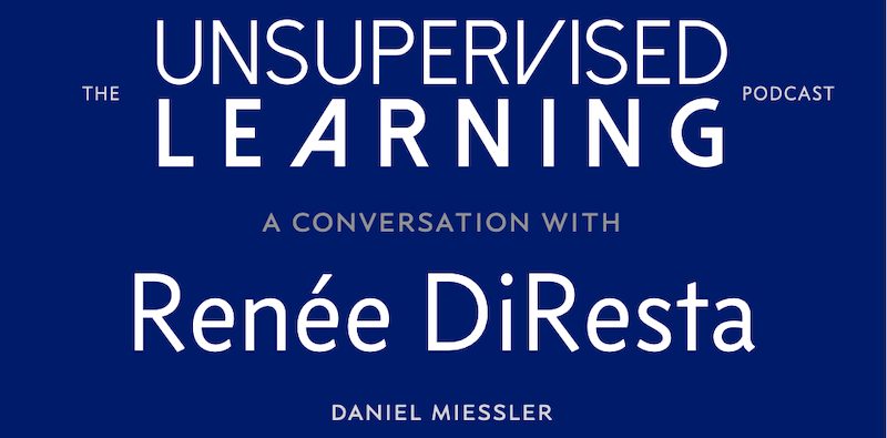 A Conversation With Reneé DiResta: Disinformation and Conspiracy Propagation