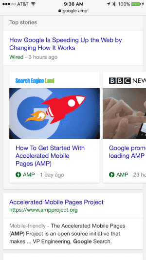 , Google AMP is Not a Good Thing