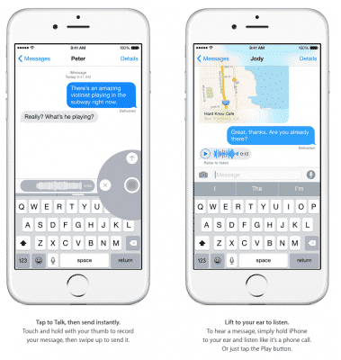 Looking Forward to Voice Texts in iOS 8