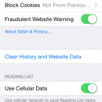 "Safari's ""Clear History and Website Data"" Not Working in iOS 8 Beta 2"