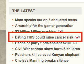 CNN Using Tabloid Tactics