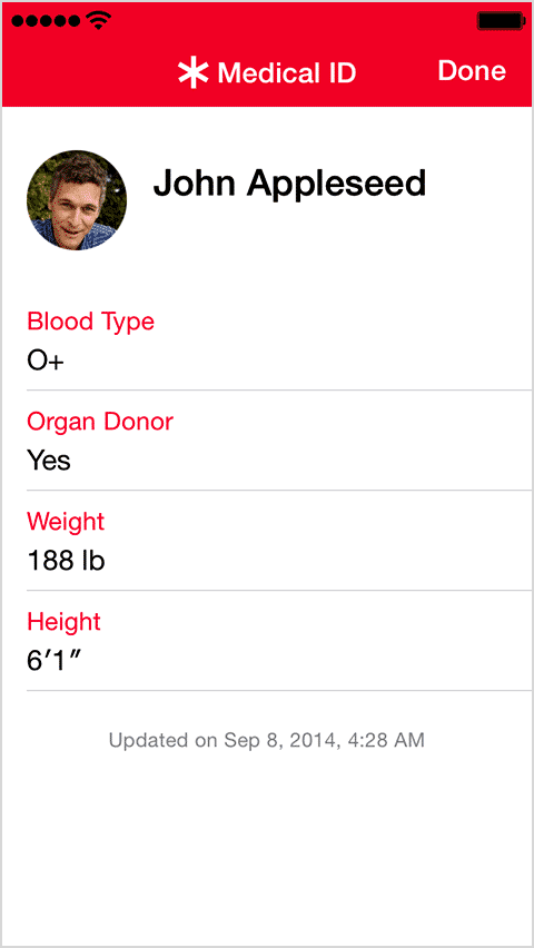 , How to Configure Medical ID on your iPhone