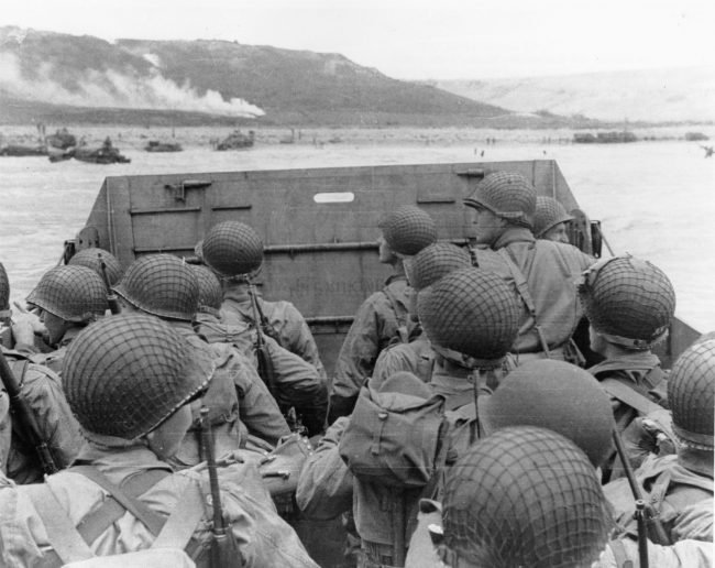 normandy troops