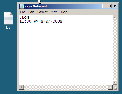 notepad_log