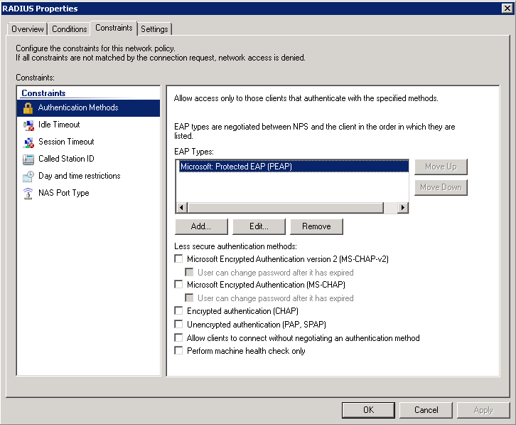 nps2 Wireless: WPA2 Enterprise Integration With Active Directory 2008 Using NPS