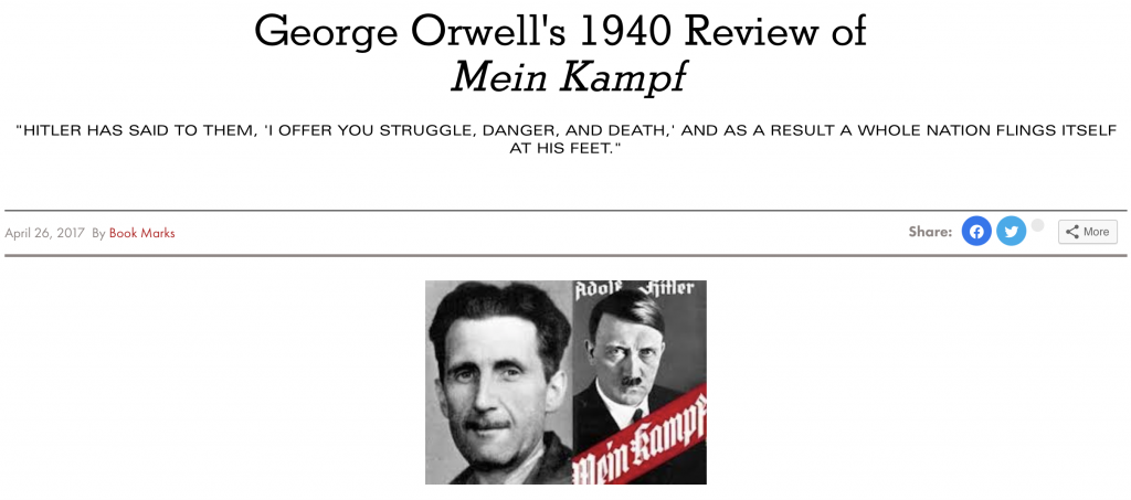 orwell review