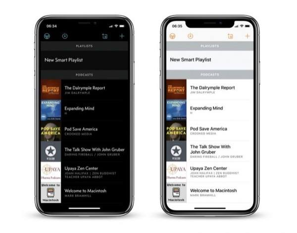 , Switching from the Native Apple Podcast App to Overcast