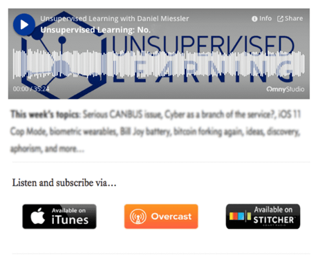 Unsupervised Learning: No. 98