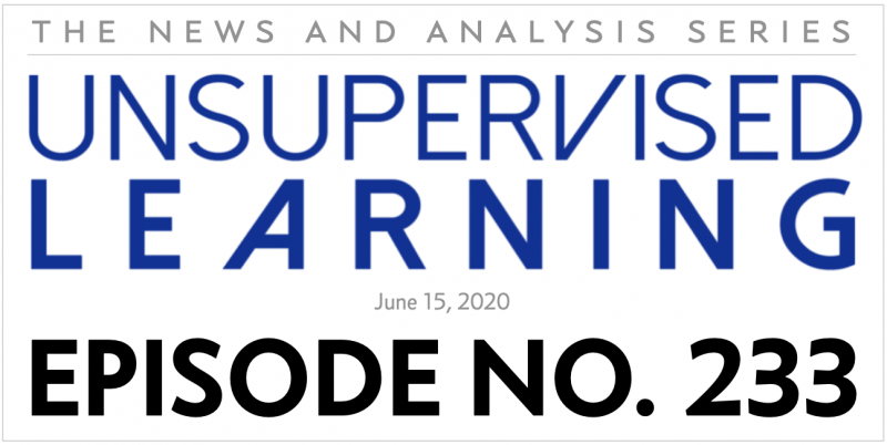 Unsupervised Learning: No. 233