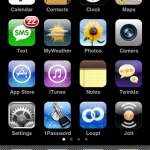 How I Organize My iPhone Applications