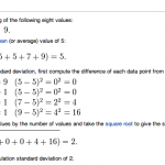 Standard Deviations Explained
