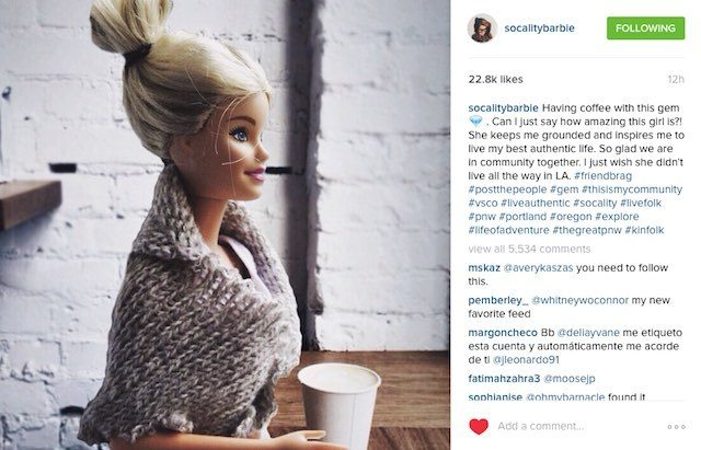 How Are You Different from Socalitybarbie?