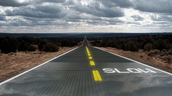 Solar Covered Roads