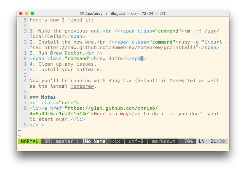 From iTerm2 to Terminal.app