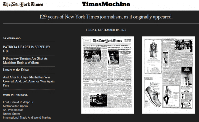 The Times Machine