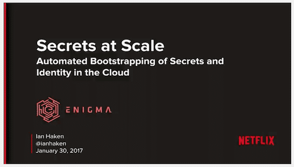 , The Bottom Turtle of Cloud Secret Management
