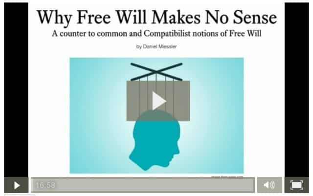 Why Free Will Makes No Sense